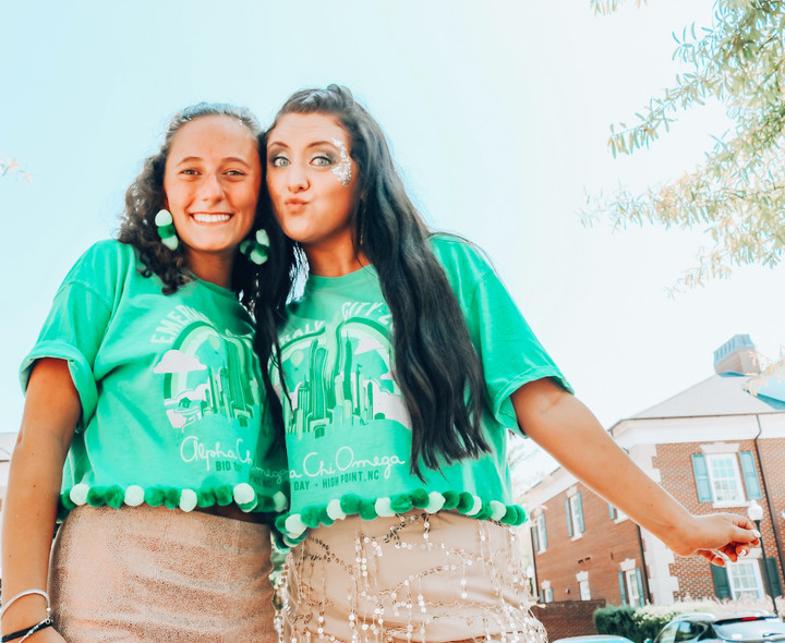Alpha Chi Bid Day at HPU EMERALD CITY