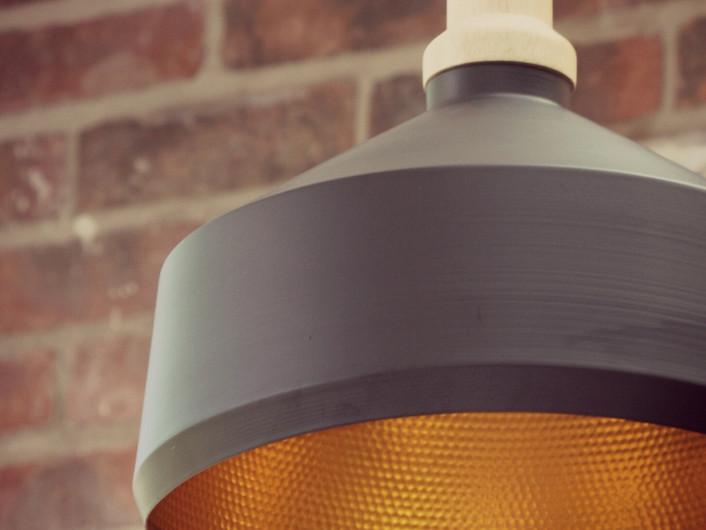 LEAMINGTON SPA Kitchen extension - Industrial style pendant lamp