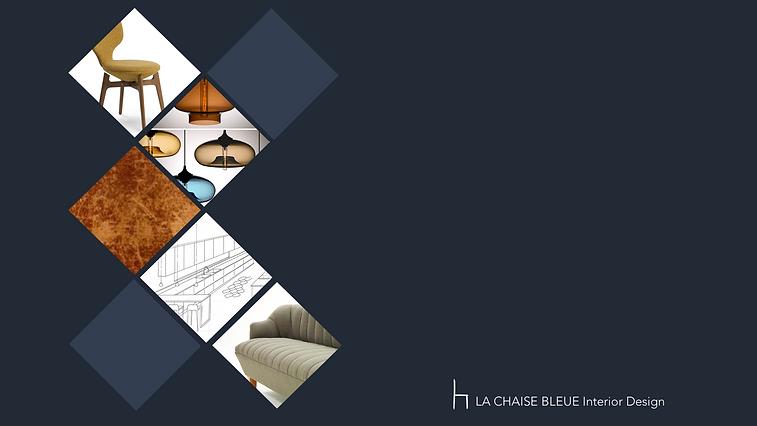 La Chaise bleue Interior Design logo