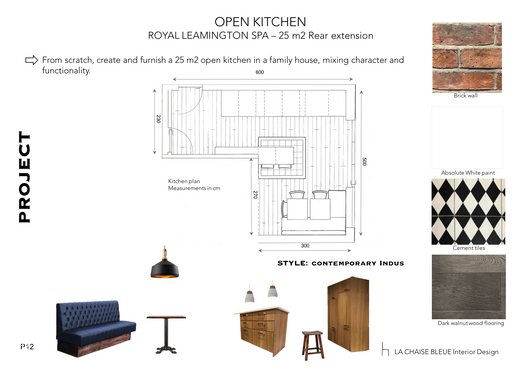 LEAMINGTON SPA Kitchen extension - Project board