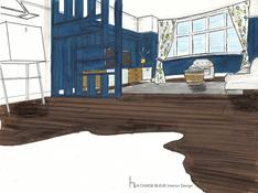 LEAMINGTON SPA Lounge - Sketch