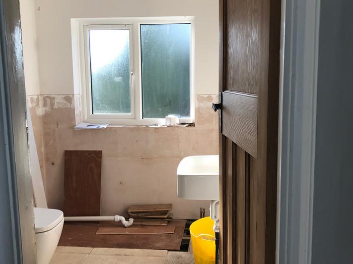 LEAMINGTON SPA Family bathroom - Work in progress