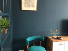 LEAMINGTON SPA Lounge - Reupholstered midcentury chair