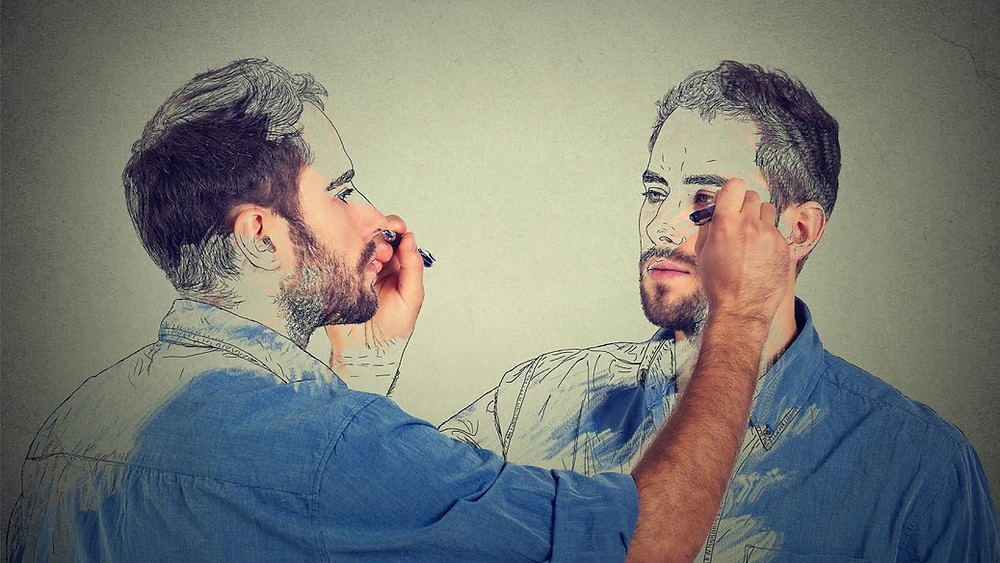 The paradox of the self