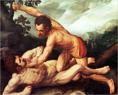 Cain and Abel, presumably