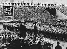 A Nazi rally