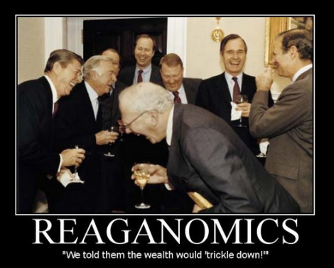Reagan and his cronies