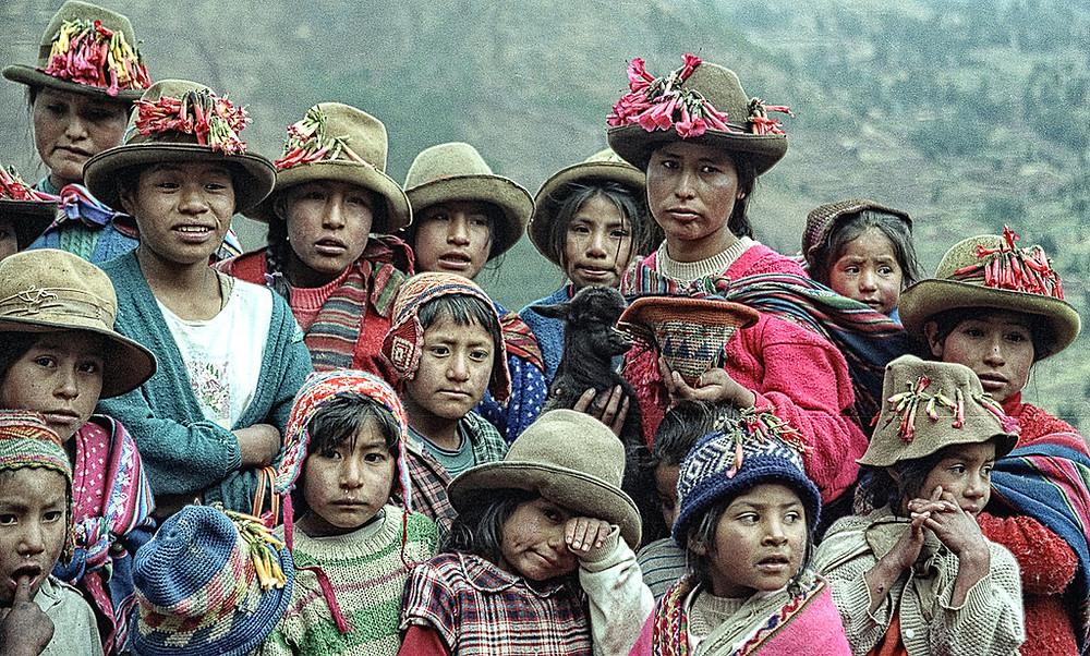 Descendants of the Spaniards' Peruvian victims