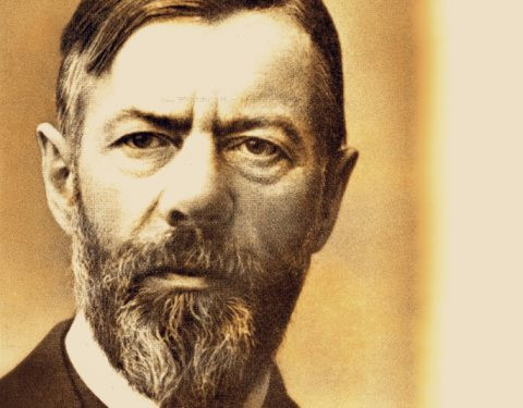 Max Weber, an anti-Marxian idealist