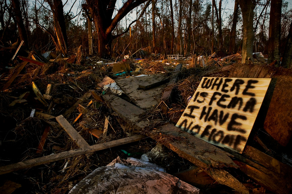 Post-Katrina mayhem