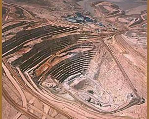 A copper mine in Chile