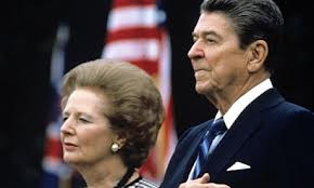 Reagan and Thatcher - the human stain