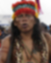 Native American in full regalia