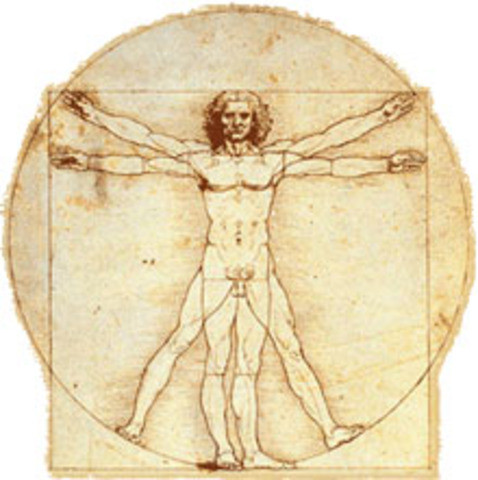 Da Vinci's classic illustration