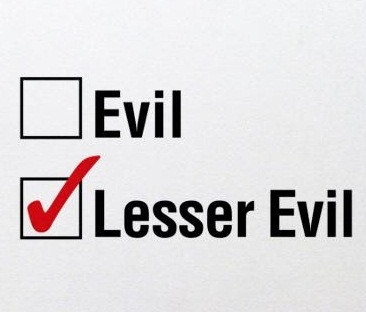 "On ""lesser evilism"" in politics"