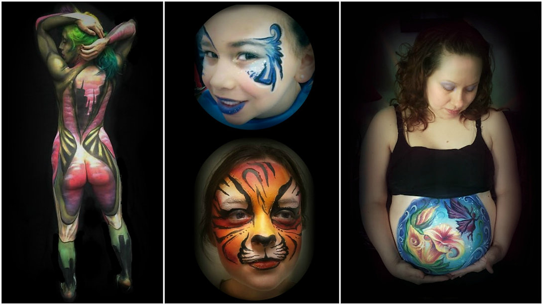 556131f7e Face Painting by Sophia. Airbrushing, Body Painting ...