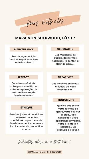 valeurs mots clés mvs