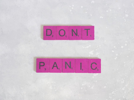 Panic time. Who's going to publish your book?