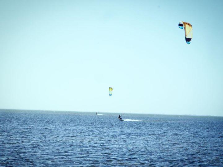Kiteboarding in Paradise