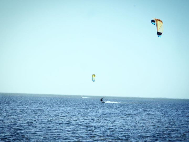 "...""Photo of the Day - Kiteboarding in P"