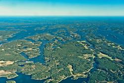 Swedish coastline