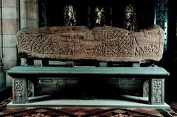 Viking sarcophagus