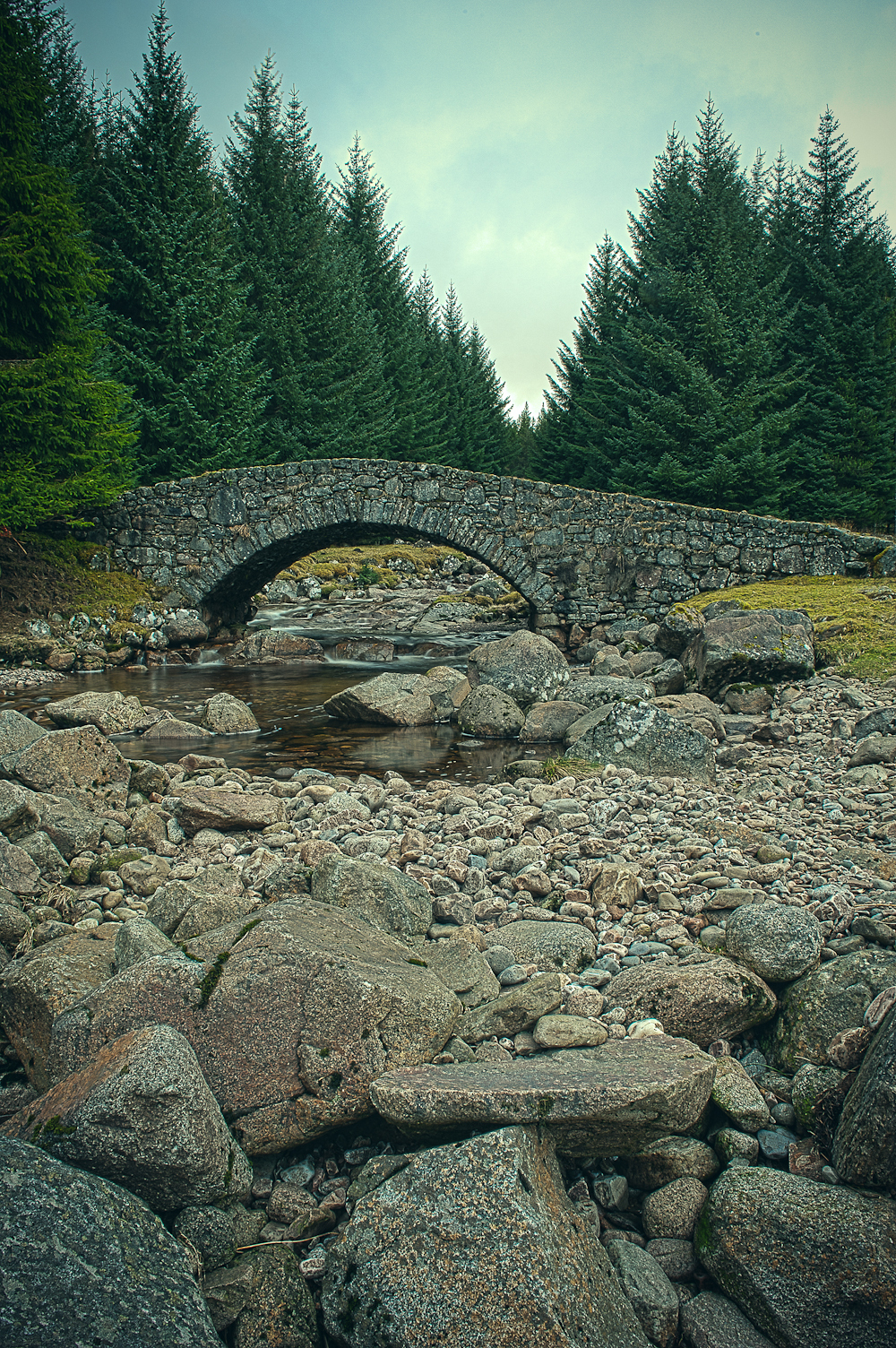 Military bridge at Melgarve