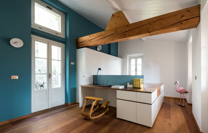 La stanza di Giò: la mansarda diventa uno spazio multifunzionale