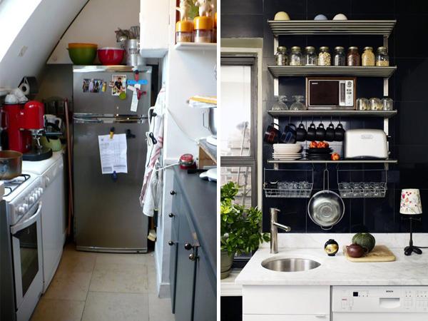 Soluzioni Cucine Piccole. Idee Soggiorno Open Space Emozionante ...