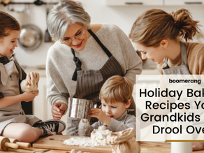 Holiday Baking Recipes Your Grandkids Will Drool Over