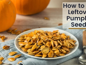 How to Use Leftover Pumpkin Seeds