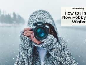 How to Find a New Hobby This Winter