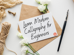 Learn Modern Calligraphy for Beginners