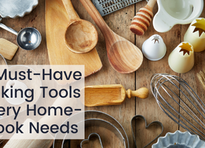 5 Must-Have Baking Tools Every Home-Cook Needs