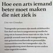 Artikel over ethische bezwaren transgenderzorg