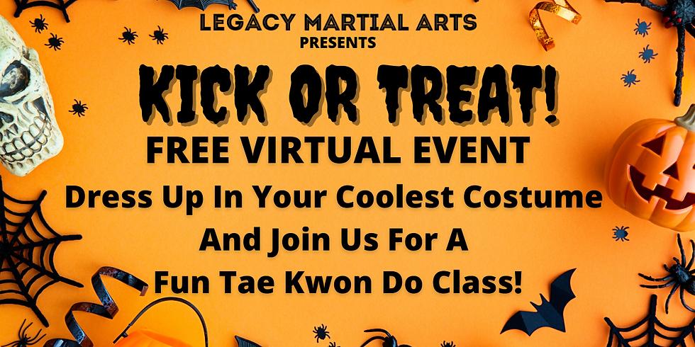 Kick Or Treat! Costume TKD Class!