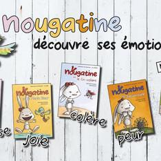 Livres 'Nougatine découvre ses émotions'