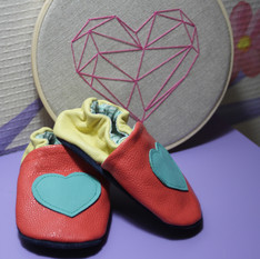 Chaussons coeur