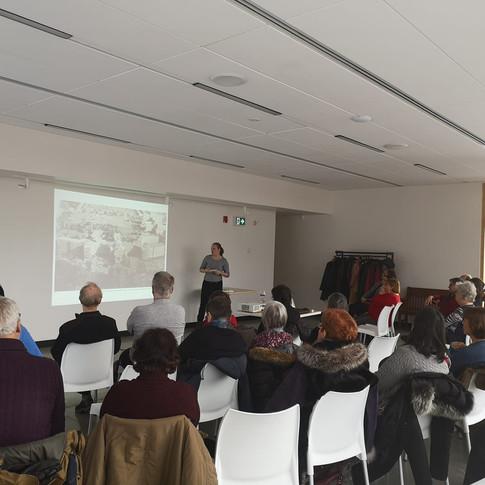 Conférence portant sur l'intérêt patrimonial de l'hôpital Sacré-Coeur de Montréal