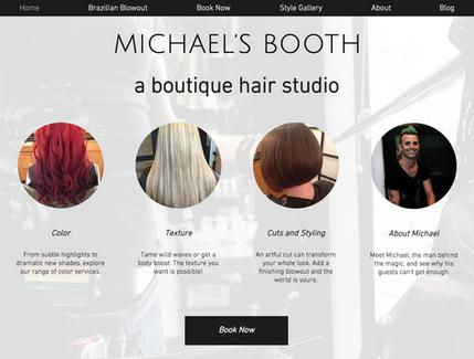 Michael's BOOTH Hair Studio
