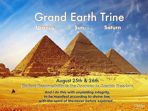 Grand Earth Trine & Pisces Full Moon | Maja-Astrology Online