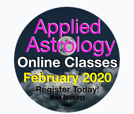 Applied Astrology Online Course : February 2020