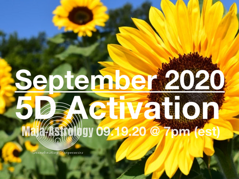 SEPTEMBER 19th 5D Activation! Register!