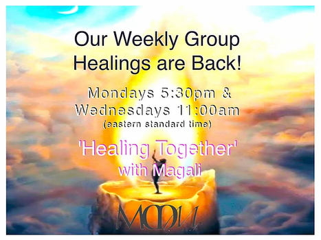 Monday & Wednesday 'Healing Together'