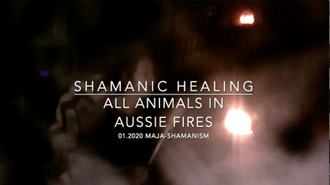 Aussie Fires & Prayers of Protection for Spirits of the Animals.