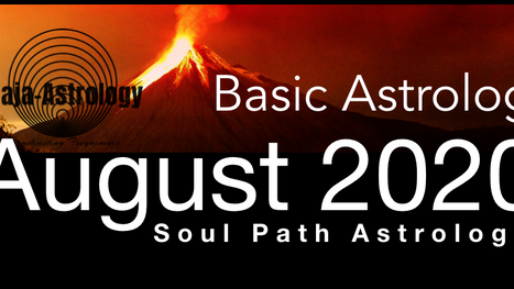 August Astrology & Yoga Online Classes