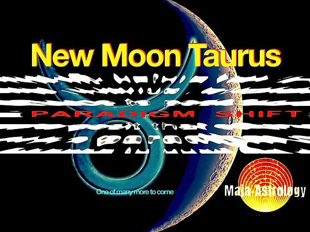 New Moon Taurus & The Timeline Jumping   Maja-Astrology Online
