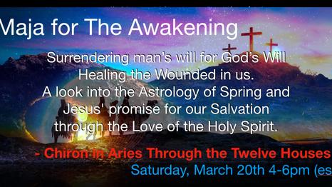 Spring Equinox Workshop (Sat. March 20th )
