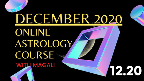 December Online Astrology Course!