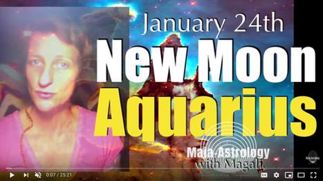 New Moon in Aquarius Video & More!